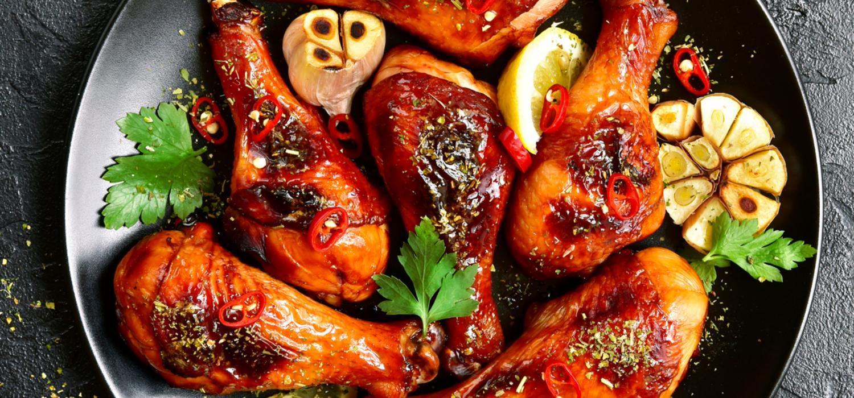 Kuřecí paličky po asijsku