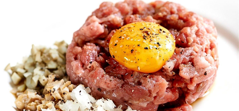 Klasický tatarský biftek